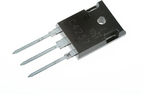 2SC4237 [T10W80HFX], Транзистор NPN 1200В 10А 150Вт 8МГц [MTO-3P]