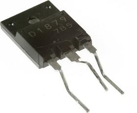 Фото 1/2 2SD1879, Транзистор NPN с демпферным диодом 800В 6А 60Вт [TO-3PML]