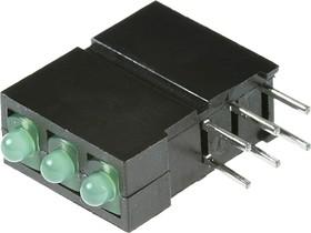 Фото 1/2 L-2060NA/3GD 3 светодиода зеленые