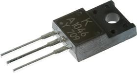 2SA1046, Транзистор PNP 60В 3А 20Вт (=KTA1046), [TO-220FP]
