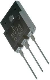 KTB778-O (2SB778), Транзистор PNP 120В 10А 80Вт [SC-65]
