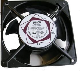 Фото 1/2 DP200A/2123XST (А2123-HST.GN), Вентилятор 220В, 120х120х38мм, подшипник скольжения 2750 об/мин