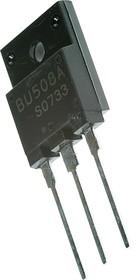 BU508AF, Мощный высоковольт. NPN биполярный транзистор, драйвер управления строчной разверткой ТВ, [SOT-199]