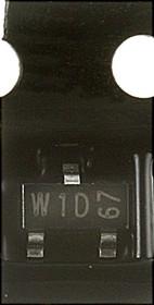 Фото 1/3 BC807-40.215, Транзистор PNP 45В 0.5А 0.31Вт [SOT-23]