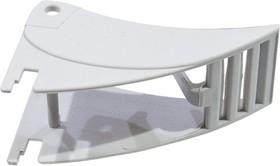 GZT80-0040 S, Фиксатор GZT80-0040 для цоколя GZM80, GZT80, GZM92, GZS92, пластик