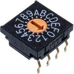 Фото 3/3 FR01FR16P-S, Switch DIP SP16T 16 Flush Screwdriver 0.1A 5VDC PC Pins 625Cycles Thru-Hole Tube