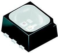 LRTB GRUG-TTTZ-1+ UYVW-29+RTST-49, DISPLIX Black, SMT LED, PLCC-6, 2.05B-3.2В, 0.1Вт, 625нм (красный)