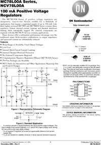 Микросхема MC78L05ABD.