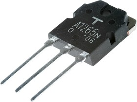 2SA1265, Транзистор PNP 140В 10А [TO-3PN]