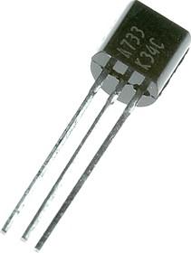 2SA733, Транзистор PNP 50В 0.1А [TO92]
