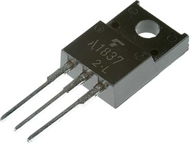 2SA1837, Транзистор PNP 230В 1А [TO220FP]