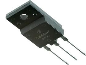 S2000AF, Мощный высоковольтный биполярный транзистор, горизонтальная развертка ТВ