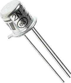 Фото 1/2 2N2222A metal, Транзистор NPN 75В 0.6А [TO18]