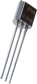 2SA708, Транзистор PNP 60В 0.7А [TO-92]
