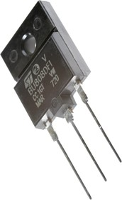 BU808DFI, Транзистор NPN DARLINGTON, высоковольтный, сопротивление Э-Б от 40 Ом [ISOWATT-218]