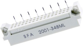 DIN41612 (DS1120-48M-V31), Вилка 16х3 ряда A (нечетн.)