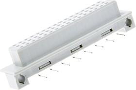 DIN41612R (DS1120-48F-R31), Розетка 16х3 ряда А (нечетн.) угловая 90°