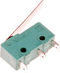 MSW-12 (21мм), Микропереключатель с лапкой 21мм ON-(ON) (5A 125/250VAC) SPDT 3P