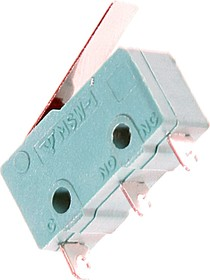 MSW-12 (17мм), Микропереключатель с лапкой 17мм ON-(ON) (5A 125/250VAC) SPDT 3P
