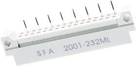 DIN41612 (DS1118-32M-11), Вилка 16x2 ряда А (нечетн.)
