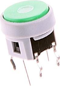 TC002N11ARGNURUB, Кнопка без фиксации с подсветкой (красная/синяя)