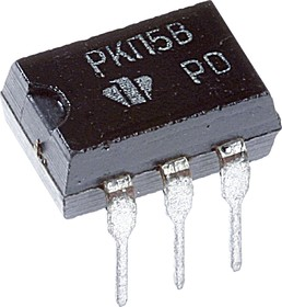 КР293КП5В (5П14.5В), Двунаправленное нормально-замкнутое МОП-реле, корпус DIP6