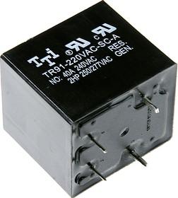 TR91-220VAC-SC-A, Реле 1зам. 220 / 40A, 240VAC