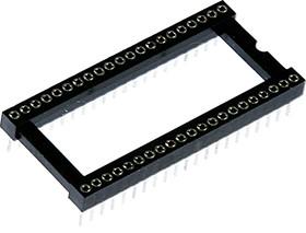 TRSS-42 (DS1001-03-42W), DIP панель цанговая 42-контактная шаг 1.778мм широкая