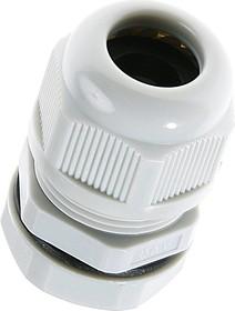 1001M2010-G (MGB20-10G), Ввод кабельный, полиамид, серый