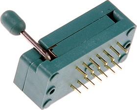 """DS1044-14, DIP панель 14-контактная с нулевым усилием 0.3"""""""