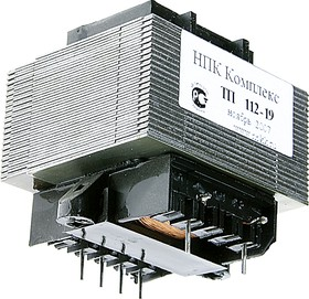 Фото 1/2 ТП112-19 (ТП132-19), Трансформатор, 2х9В, 0.4А