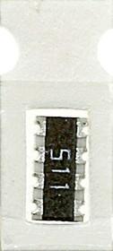 CAT16-511J4 4х 510 Ом, ЧИП резисторная сборка (SMD)
