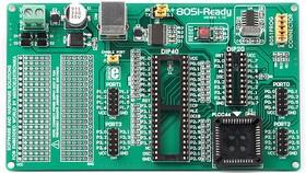 Фото 1/4 MIKROE-257, 8051-Ready Board, Макетная плата