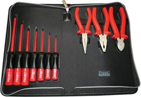 Фото 1/2 1PK-816N, Набор инструментов VDE до 1000В (10 предметов)