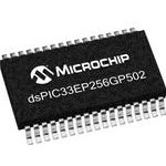 Фото 2/2 DSPIC33EP256GP502-I/SS, Контроллер Цифровых Сигналов, Серия dsPIC33E, 60 МГц, 256 КБ, 21 I/O, CAN, I2C, SPI, UART, USB