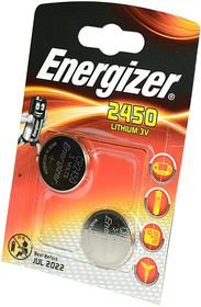 Energizer CR2450 BL2, Элемент питания
