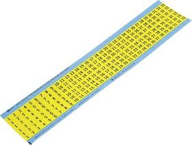 WM-1-33-YL, Номера на картах желтые (1карта) (25/1)