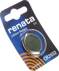 CR2032, Элемент питания литиевый (1шт) 3В