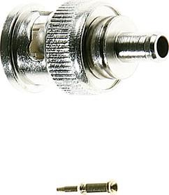 HYR-0113D (GB-113D) (BNC-7003), Разъем BNC, штекер, RG-174, обжим (Crimp)