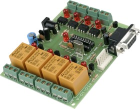PIC-IO, Плата изолированного ввода/вывода на базе 18-выводных PIC Microchip