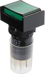 Фото 1/2 P16LAT2-1abHG, Кнопка с фиксацией / подсветкой 250В4А