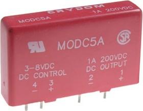 Фото 1/2 MODC5A, Модуль I/O, 3-8VDC, 1A/200VDC