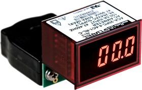 ACA-20PC-4-AC1-RL-C, Imax 100А Uп 85-264В красн. цифровой амперметр