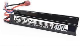 ROBITON LP-STN2-1400 Lipo 7.4В 1400мАч, Аккумуляторная сборка