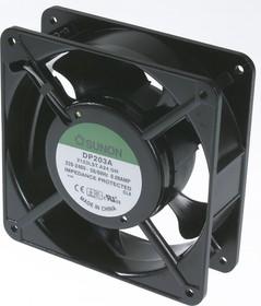 DP203A-2123LST.(A24).GN (JA1238S22L), Вентилятор 220В, 120х120х38мм, подшипник скольжения 2000 об/ми