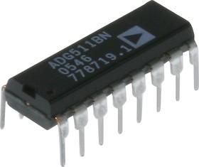 ADG511BNZ, Прецизионный 5В/ 3В квадрантный однополюсный однопозиционный переключатель