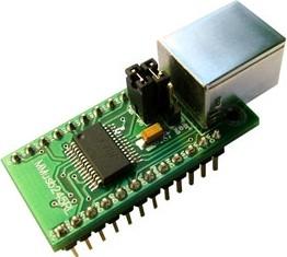 MMUSB245RL, Переходник USB-FIFO на базе FT245RL