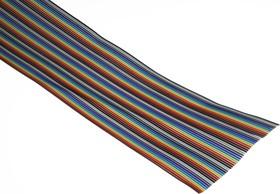 DS1058-64 (FRC-64-30C), Кабель плоский цветной 1.27мм, 64 жил
