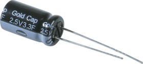 EECA0EL335, 3.3 Ф, 2.5 В, Ионистор, серия AL