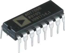 AD7706BNZ, АЦП 16-бит Ind [DIP-16]